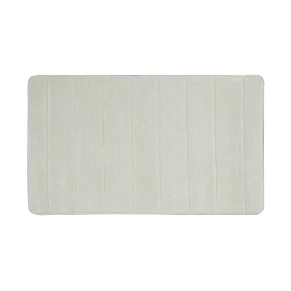Dealtz Townhouse Rugs Memory Foam Bath Rug 20 by 34-Inch Pebble at Sears.com
