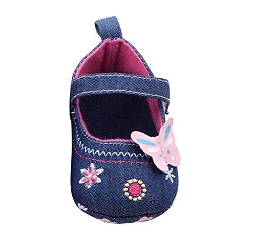 Fulltime® Chaussures de bébé papillon doux tout-petit seul