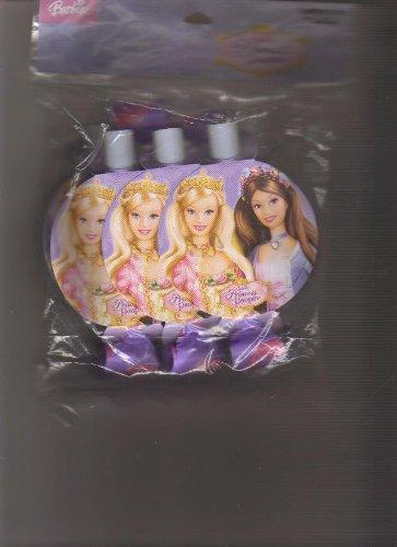 Barbie 'Princess and the Pauper' Blowouts / Favors (8ct)
