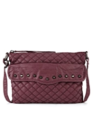 Limited Edition Quilted & Studded Cross-Body Bag