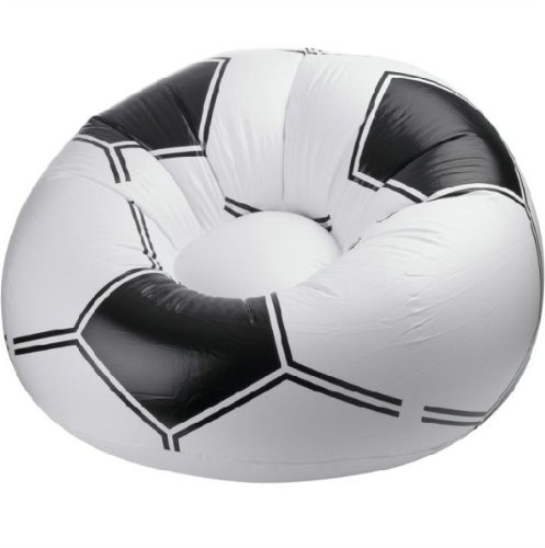 Inflatable Football Chair. Relaxing blow up football