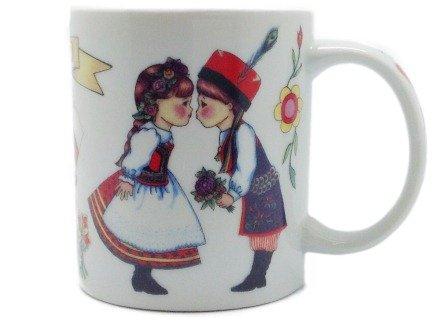 """""""I Love Poland"""" Coffee Cup Polish Gift Idea"""