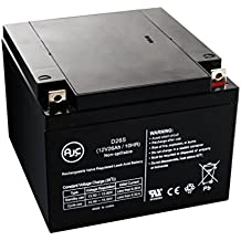 AJC Battery GS PE12V24AB1 12V 26Ah UPS Battery - This Is An AJC Brand Replacement
