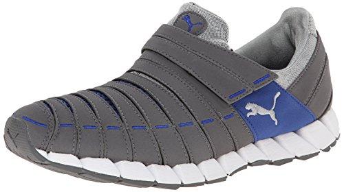 PUMA Men's Osu Running Shoe,Steel Gray/Limoges/White,11 M US