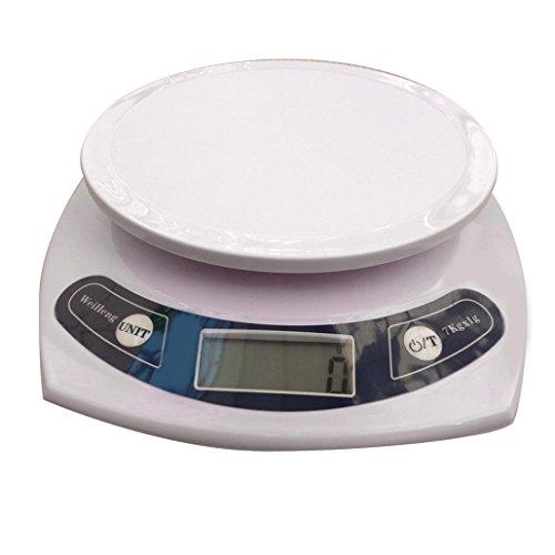 Weiheng WH-B06 Balance de Cuisine 7kg Maximum Précision 1 g pas de rétroéclairage
