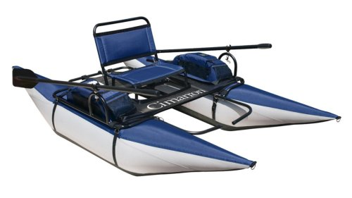 Classic Accessories Cimarron Pontoon Boat (Blueberry/Silver)