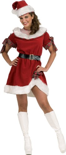 Secret Wishes Ms. Santa Dress Costume