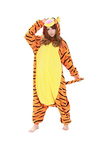 Tigger Kigurumi - Adults Costume