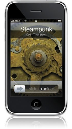 GelaSkins Steampunk Protective Skin with Digital Wallpaper Downloads for iPhone 3G/3GS