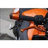 BMW F800R/F650GS/F800GS用 ハンドル バーエンド ゴールド DI-HCB-BM-R4-G