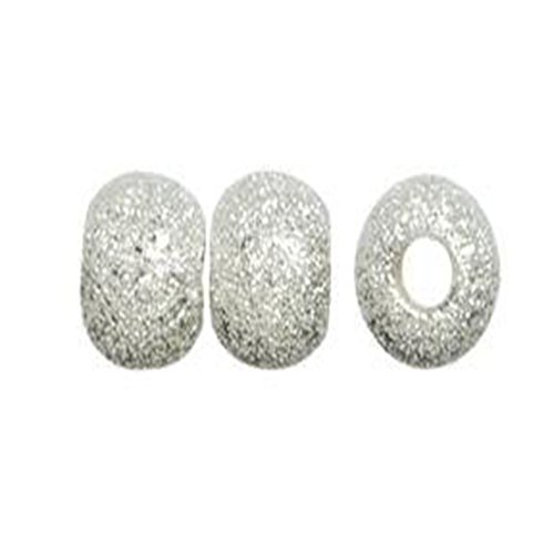 duman-100pcs-6mm-silver-plated-stardust-round-for-jewellery-making