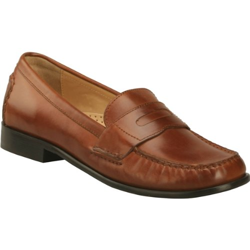 Cole Haan Womens Janine Penny Moc,Saddle,8.5 B(M) US