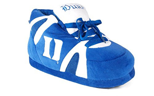 Happy Feet Mens and Womens Duke Blue Devils - Slippers - Large (Duke Blue Devils Womens Apparel compare prices)