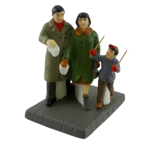 Ceramic 3.00 IN Dept 56 Accessories Hurry Up Its Picture Time Snow Village Camera Ceramic