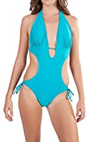 Womens Monokini Swimsuit, Aloha, One Piece / Two Piece, Several Colors