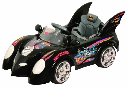 Best Ride on Cars 662R 6V Batmobile, Black