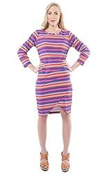Iamme Multicolour Wrap Dress