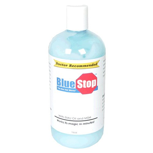 Buy Bluestop Pain Relief, 16 oz (Clavel, Health & Personal Care, Products, Health Care, Pain Relievers, Rubs & Ointments)