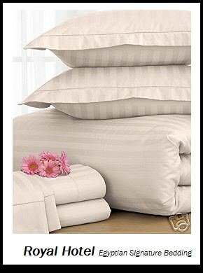 Royal Hotel's 8pc Queen size Bed-in-a-Bag Striped 