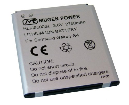 Mugen-Power-2750mAh-Battery-(For-Samsung-Galaxy-S4-I9500-/-I9505)