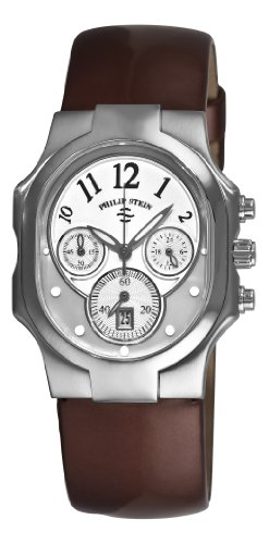 Philip Stein Signature Classic Chrono Ladies Chocolate Strap Watch 22-FMOP-LCH