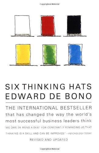 Six Thinking Hats ISBN-13 9780316178310