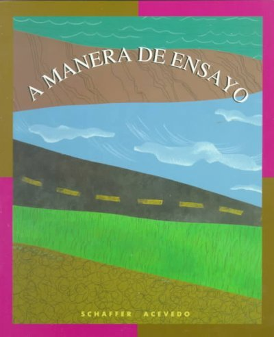 A Manera De Ensayo (English and Spanish Edition)
