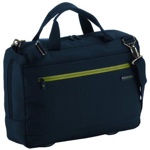 Roncato Polaris cartella - borsetta uomo da viaggio 43 cm blu