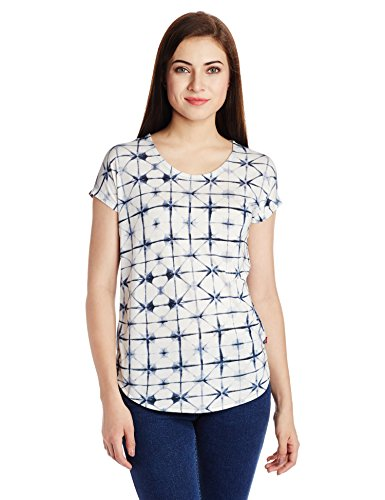 Levis-Womens-Chequered-T-Shirt