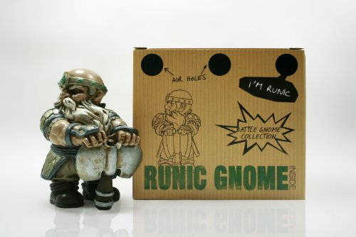 Battle Axe Garden Gnome 4""