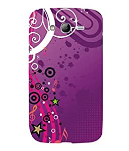 printtech Music Notes Abstract Back Case Cover for Samsung Galaxy Grand i9080:::Samsung Galaxy Grand i9082