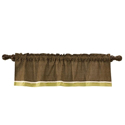 Lambs & Ivy Froggyville Window Valance - 1