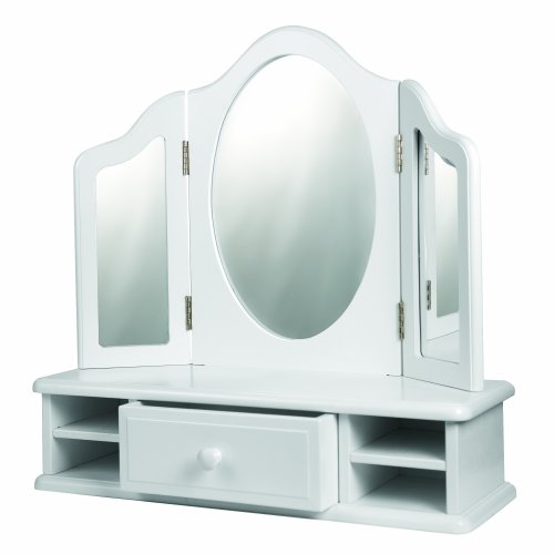 One Step Ahead Girls Tabletop Vanity WHITE Review
