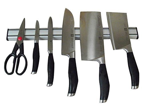 Ouddy 15 Inch Magnetic Knife Bar - Aluminum Magnetic Knife Holder - Magnetic Knife Strip