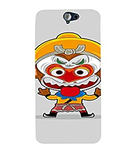 PrintVisa Animated Cartoon Design 3D Hard Polycarbonate Designer Back Case Cover for HTC One A9