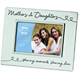 Prinz 6 by 4-Inch Mothers & Daughters Silver Metal Frame