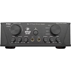 Pyle-Home PVA2 60W Hi-Fi Mini Stereo Amplifier