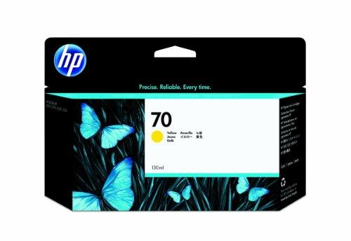 HP - 70 - CARTOUCHE D'ENCRE D'ORIGINE VIVERA - JAUNE - 130 ML
