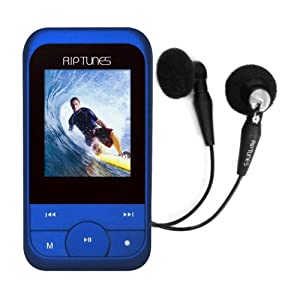 Riptunes 4GB MP3 Player - Blue