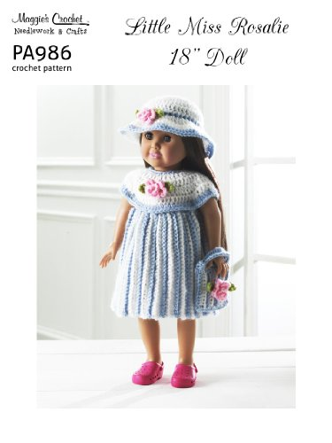 Crochet Pattern Little Miss Rosalie PA986-R