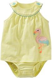 Carter's Baby Girls' Dot Print Sunsuit (Baby)