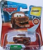 Disney Pixar Cars Lenticular Eyes Chase Fred with Fallen Bumper