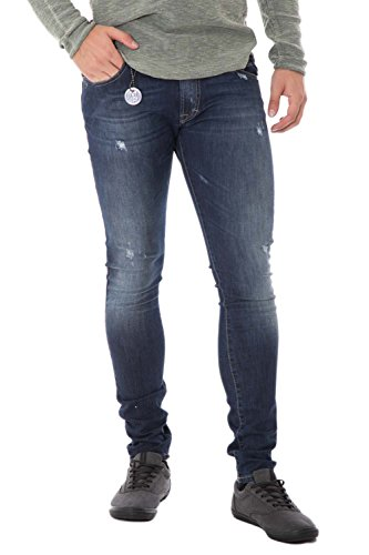 IMPERIAL - Jeans uomo skinny fit p37 44 (xs) denim scuro