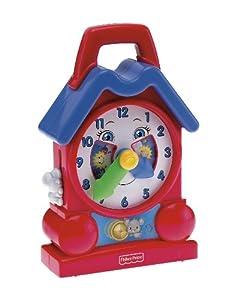 Fisher Price Bright Beginnings Musical Teaching Clock
