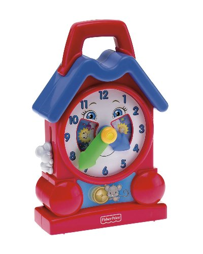 Fisher Price Bright Beginnings Musical Teaching Clock - 1