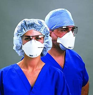 Box of 20 N95 3M Health Care Particulate Respirator and Surgical Mask Box of 20 3M 1870 by 3M