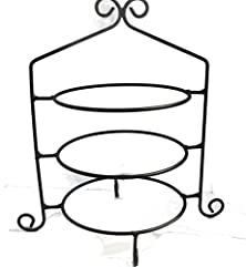 buy Wrought Iron Pie Stand/Rack Triple Tier Hand Made