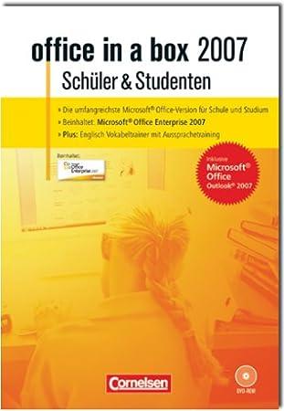 Office in a Box 2007 für Schüler und Studenten