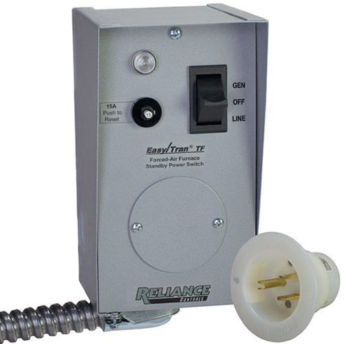 Reliance Controls Tf201W Furnace Transfer Switch