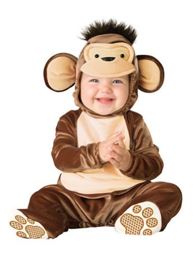 Baby-boys - Mischievous Monkey Toddler Costume 12-18 Halloween Costume